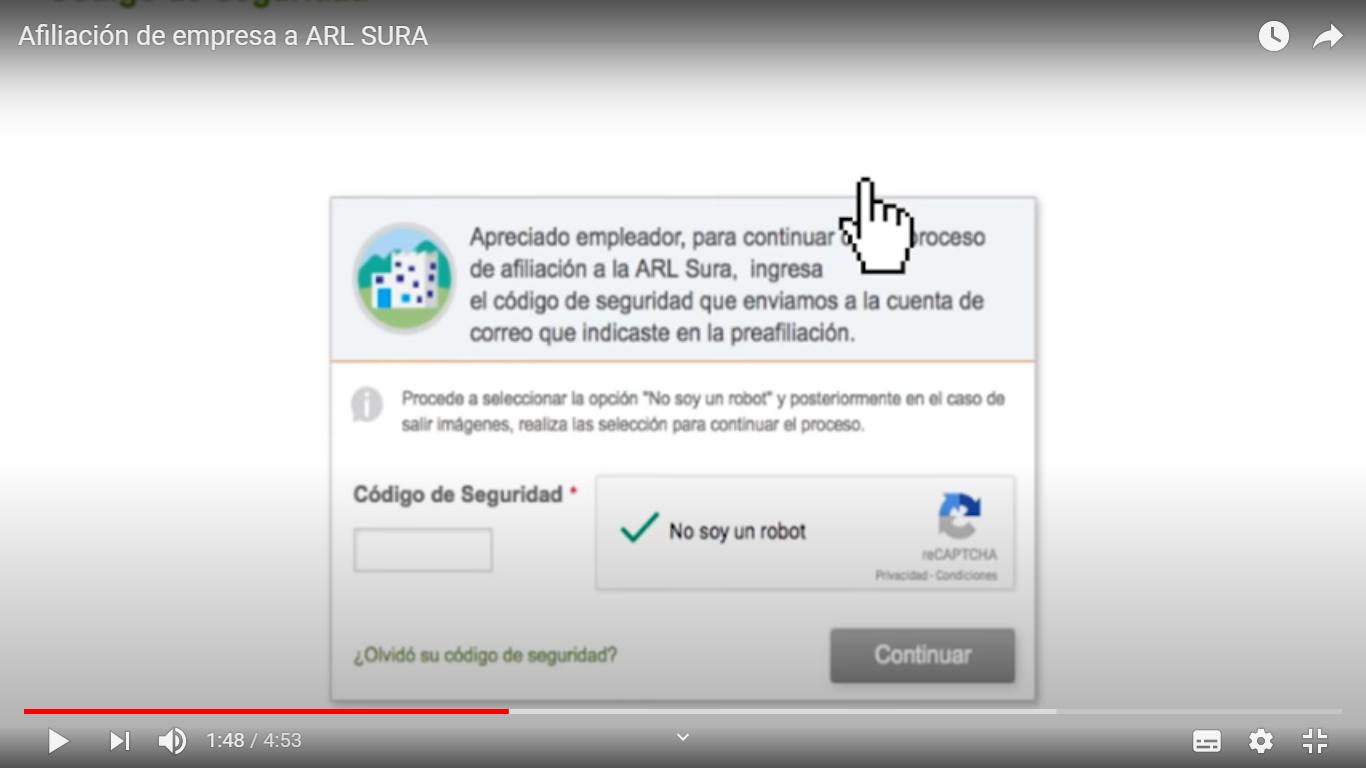 Certificados ARL SURA 7